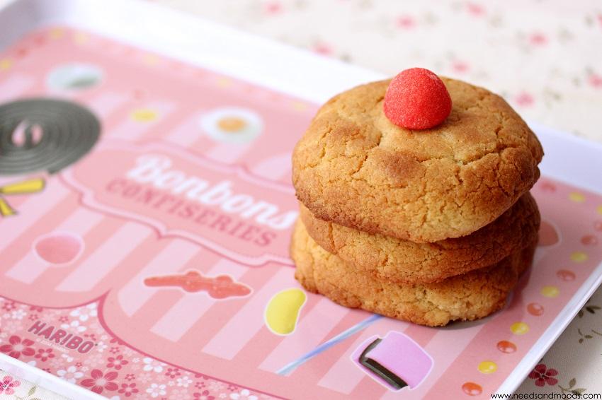 recette de cookies aux bonbons