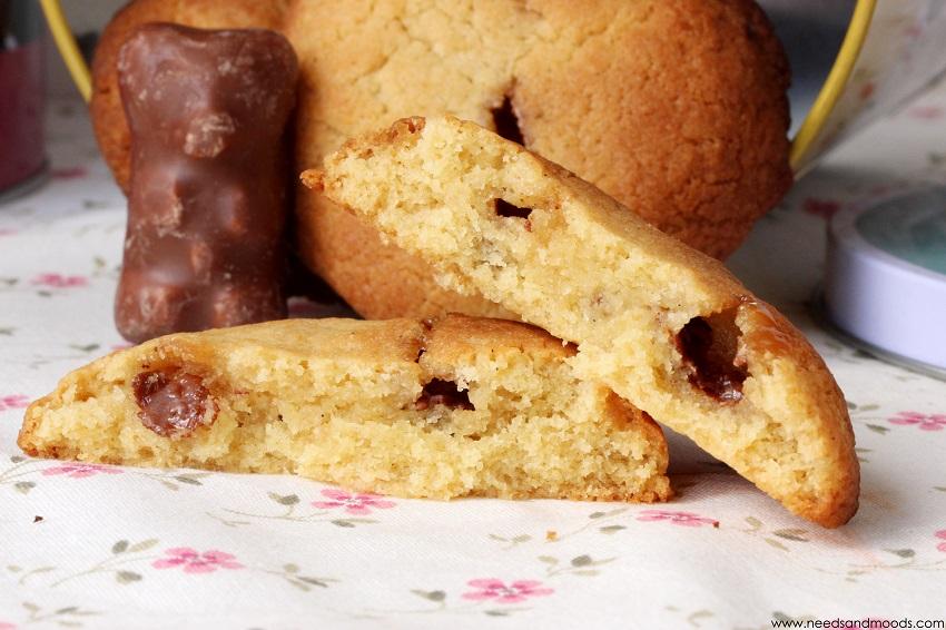 recette de cookies oursons chocolat guimauve