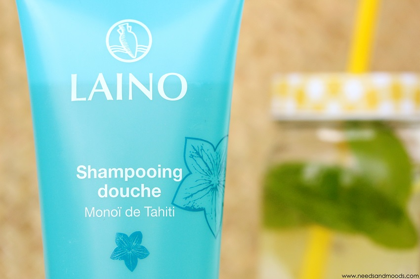 shampooing douche laino monoi de tahiti