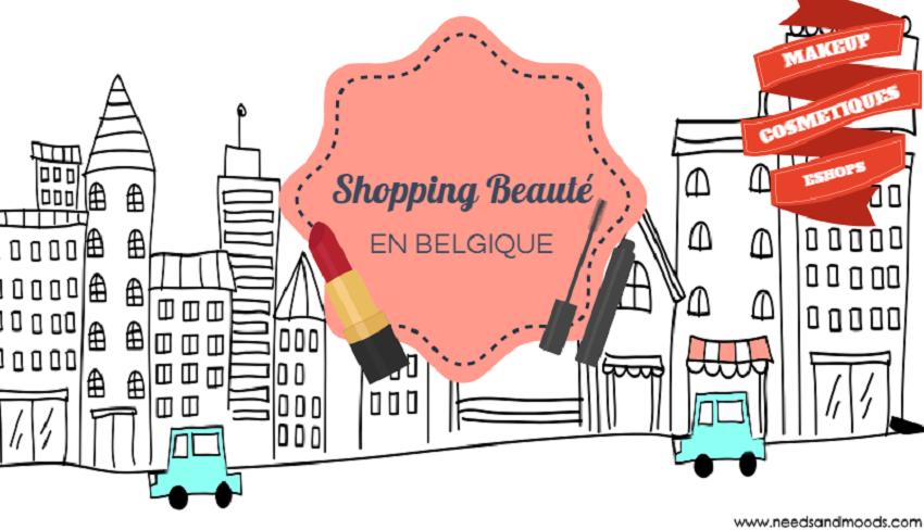 Shopping beauté en Belgique