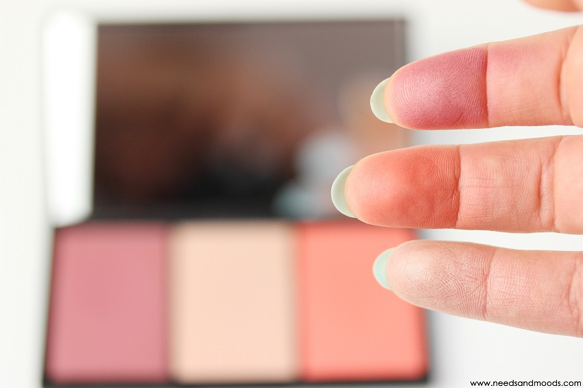 blush by 3 palette sleek