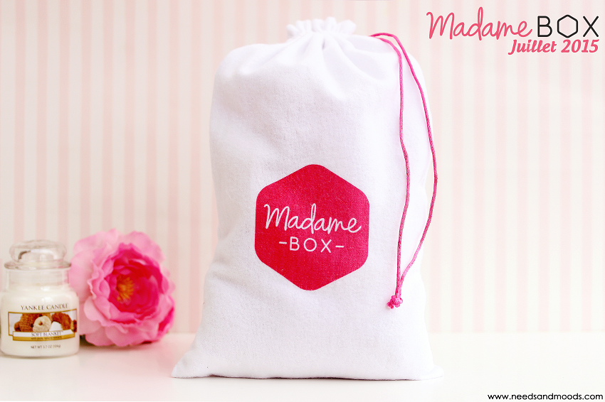 madame box juillet 2015 la box beaut d co et lifestyle. Black Bedroom Furniture Sets. Home Design Ideas