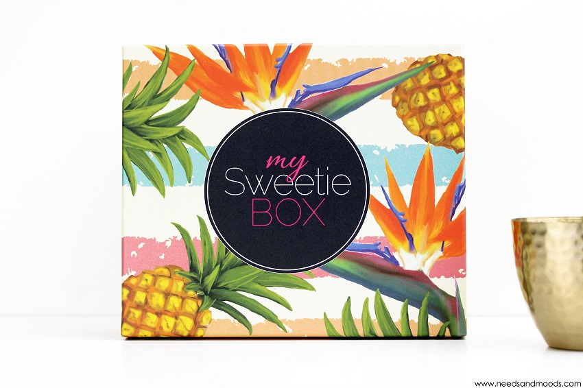 my sweetie box aout 2015