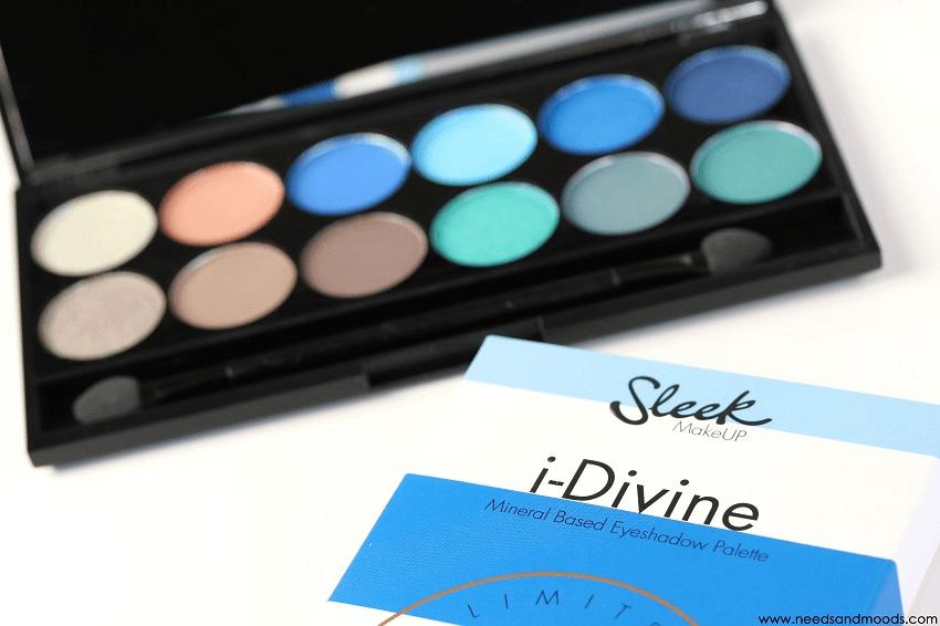 sleek makeup palette nautical collection