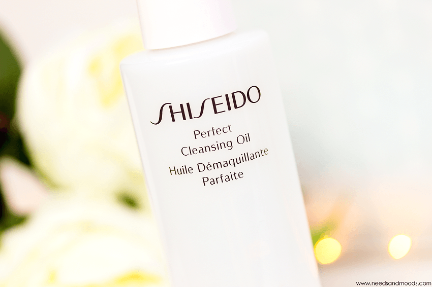 huile demaquillante shiseido