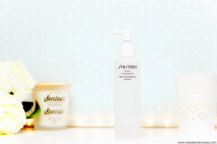shiseido huile demaquillante parfaite