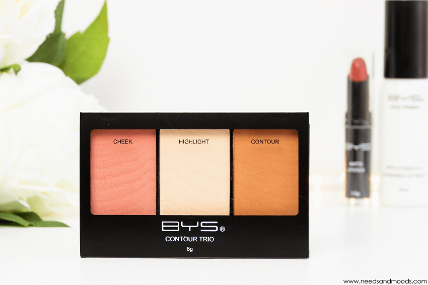 bys maquillage palette contouring
