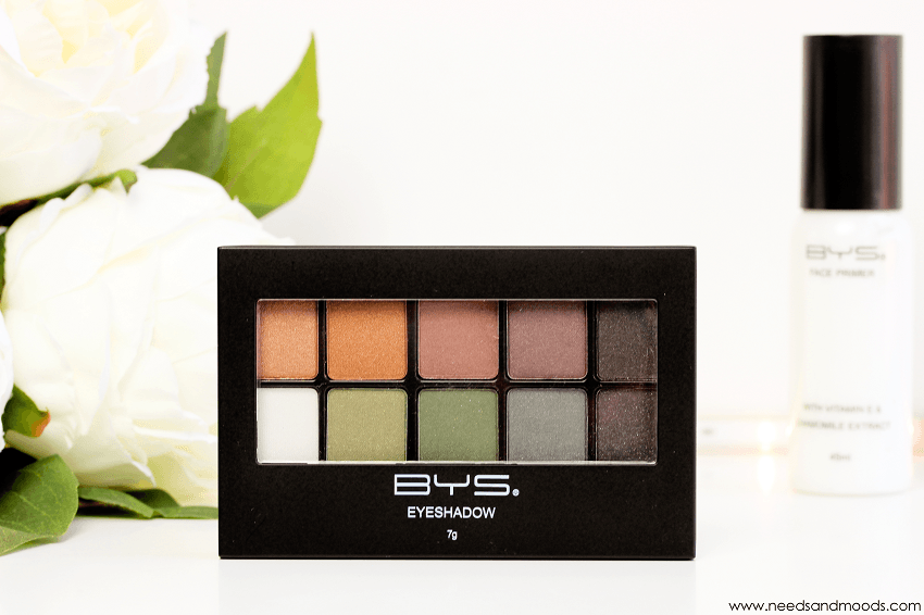bys maquillage palette ombres paupieres