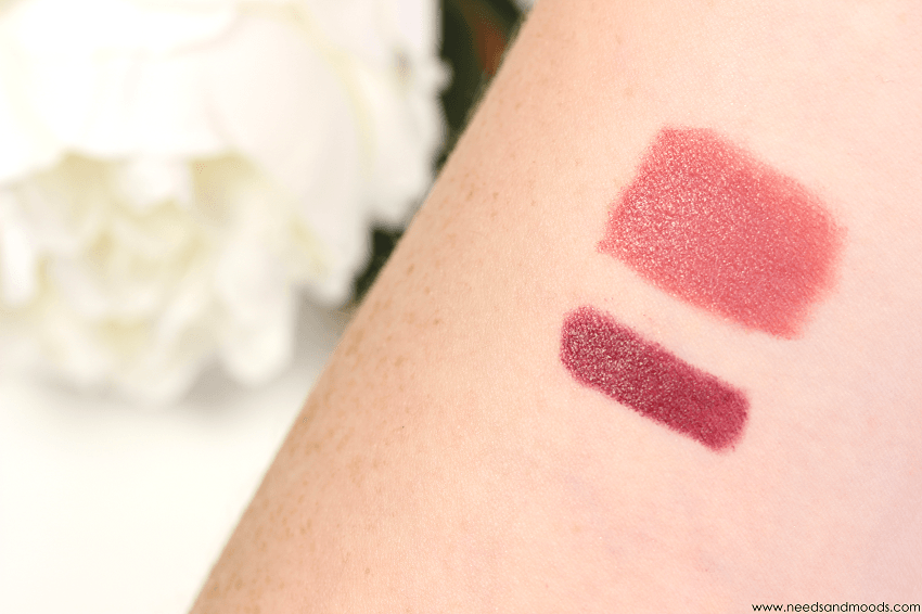 bys maquillage rouge levres swatch