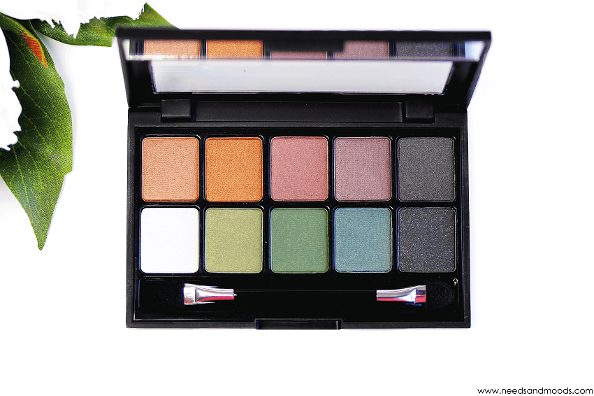 palette ombres paupieres bys maquillage