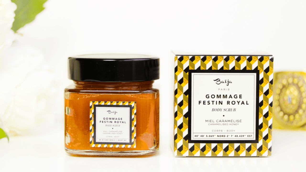 Gommage Festin Royal Baïja: mon avis sur cet exfoliant au miel.