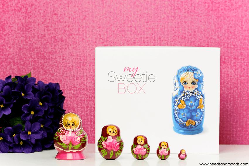 my sweetie box janvier 2016