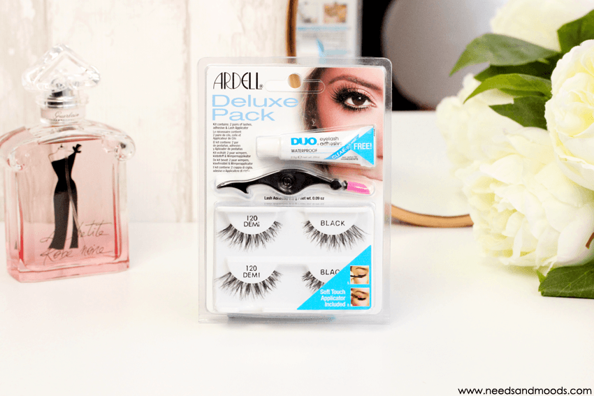 faux cils ardell deluxe pack 120 demi