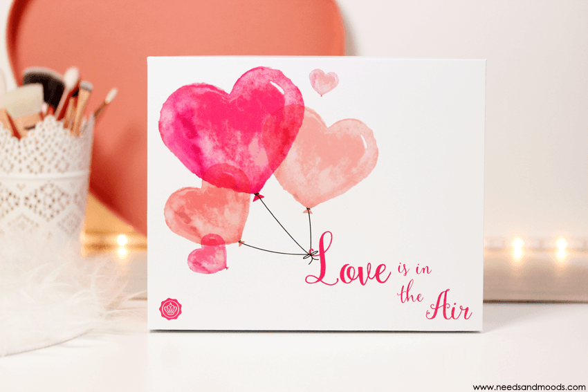 glossybox fevrier 2016 love is in the air