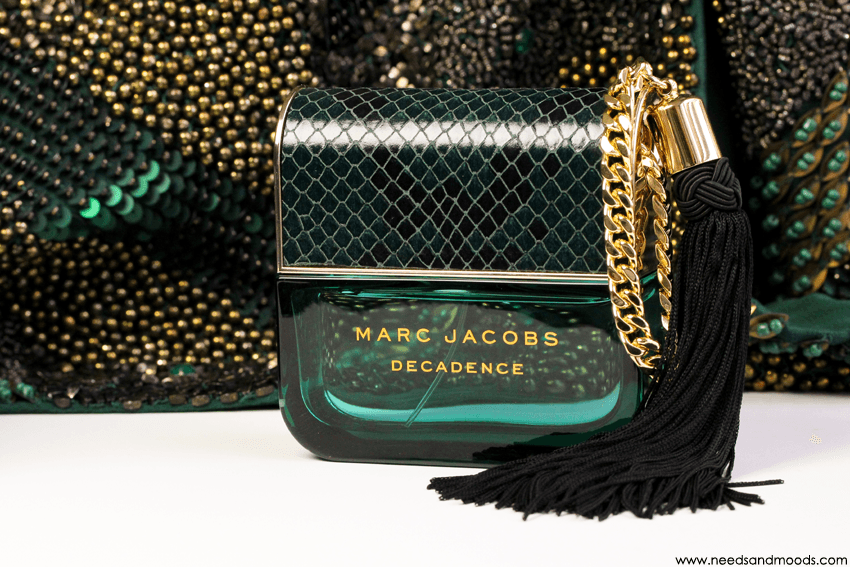 Marc Jacobs Décadence, un parfum luxueux et impertinent.