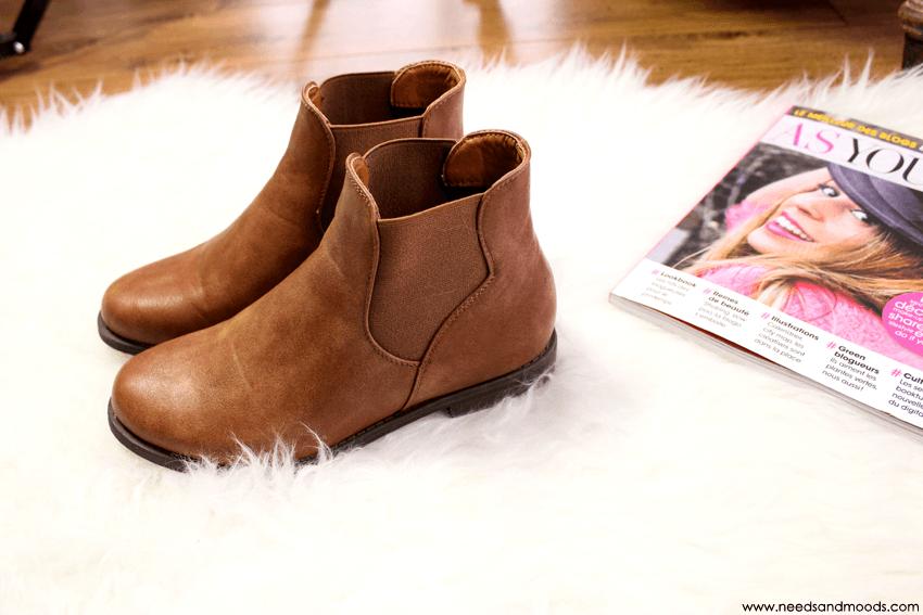 boots boohoo camel