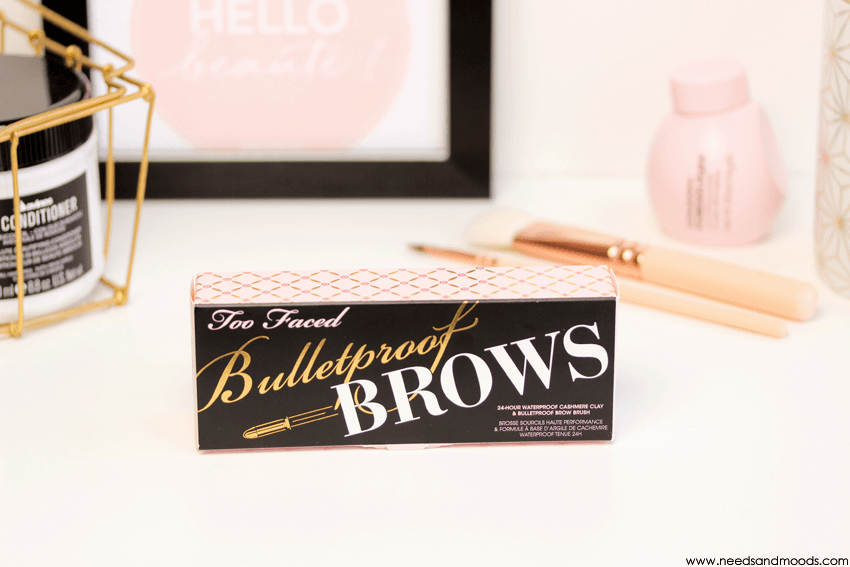 bulletproof brows too faced avis