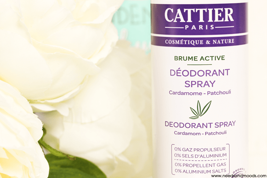 deodorant cattier brume active