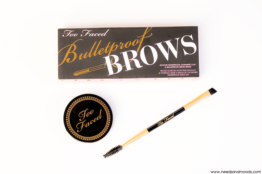 too faced kit sourcils bulletproof brows