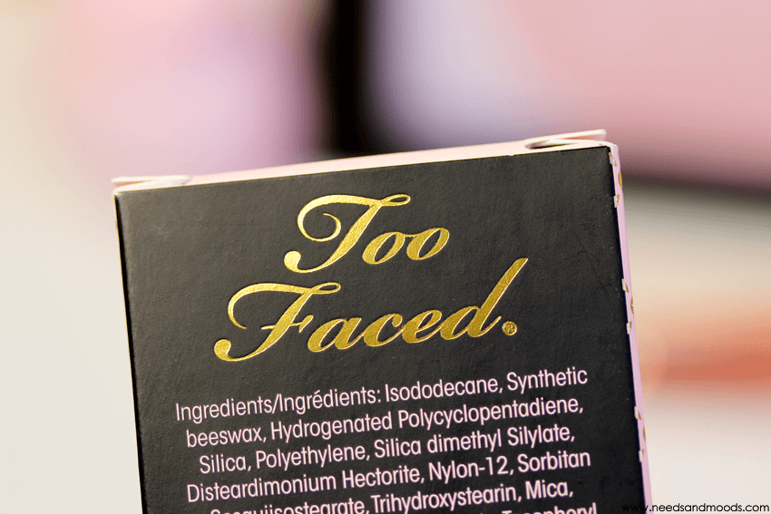 too faced sourcils