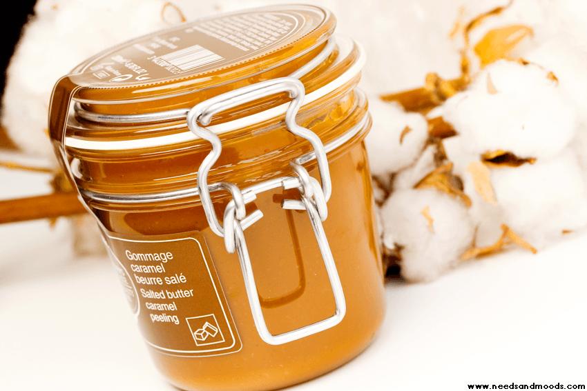 bernard cassiere gommage caramel beurre sale