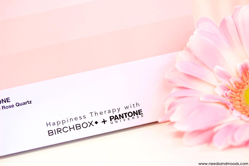 birchbox avril 2016 contenu