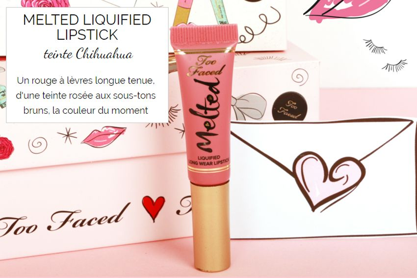 glossybox too faced melted