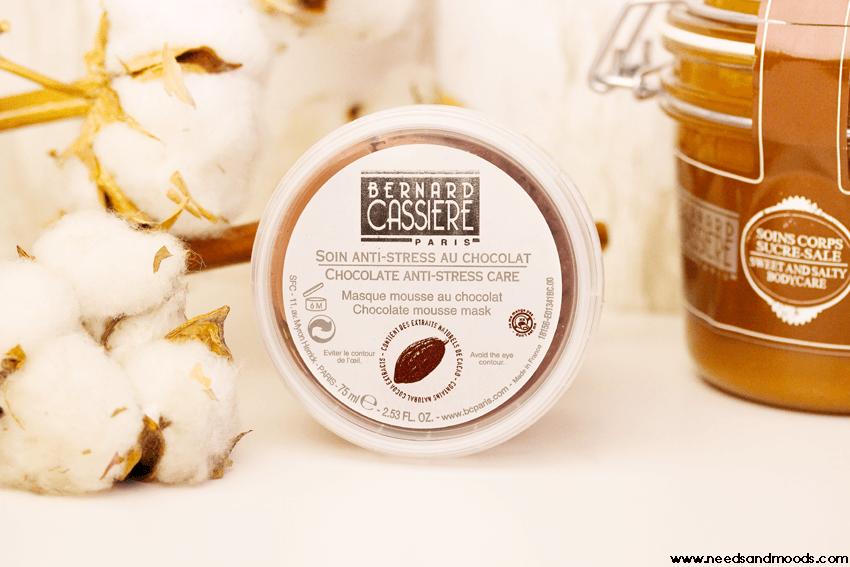 masque mousse chocolat bernard cassiere
