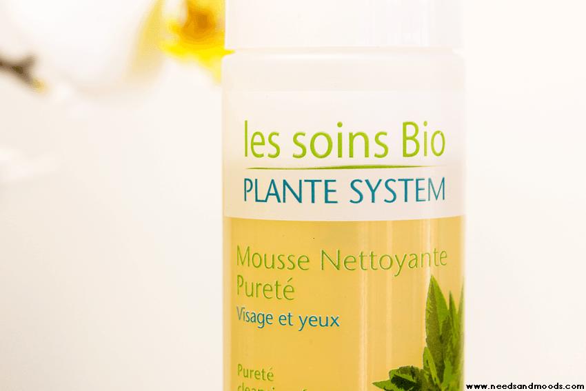 mousse visage plante system