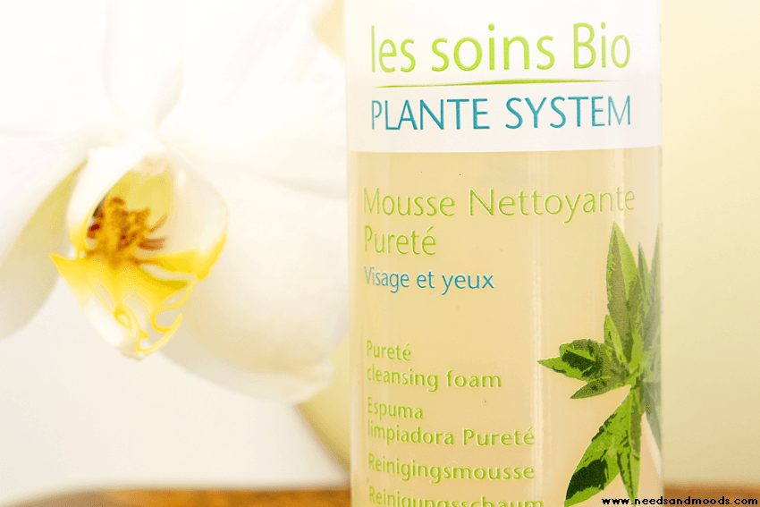 plante system mousse visage