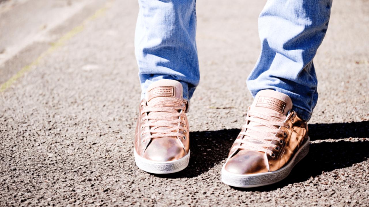 Sneakers rose gold Gaastra: la basket de princesse!