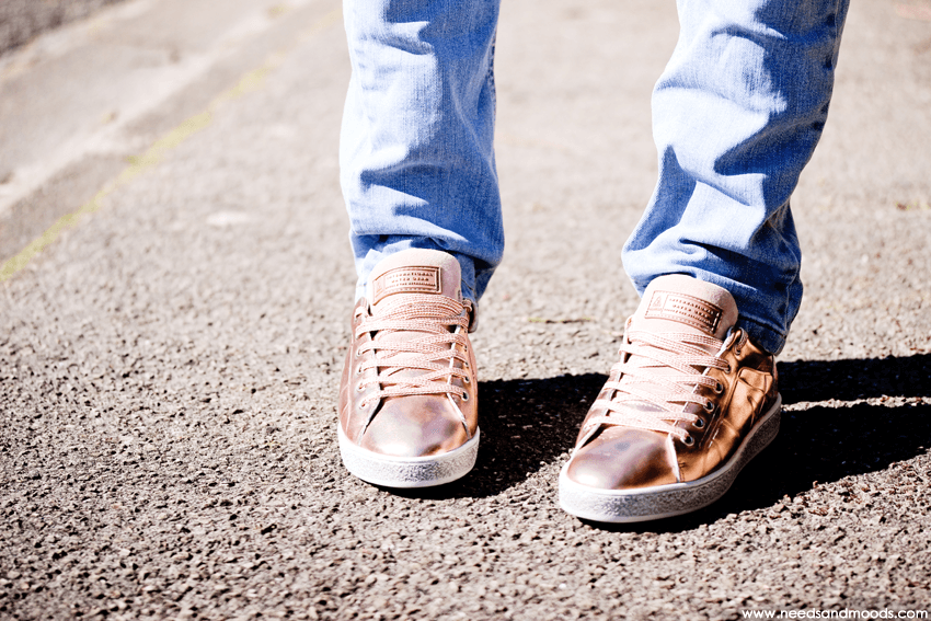 sneakers Rose Gold