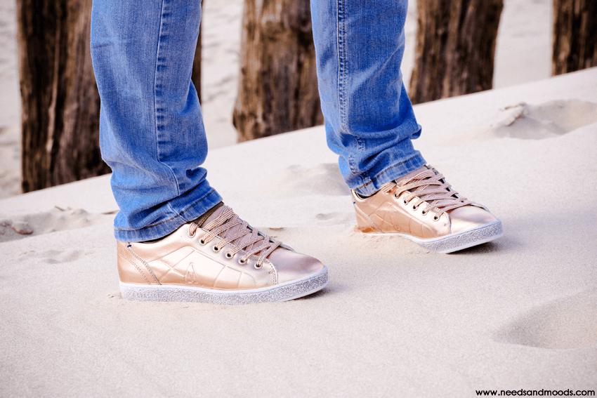 sneakers rose dore