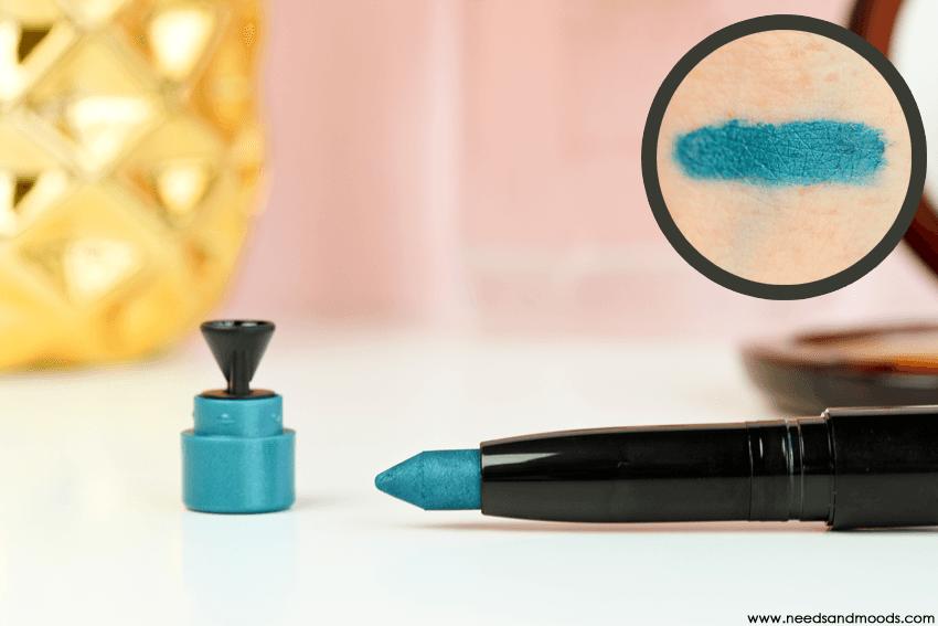 art deco eyeshadow stylo caribbean sea