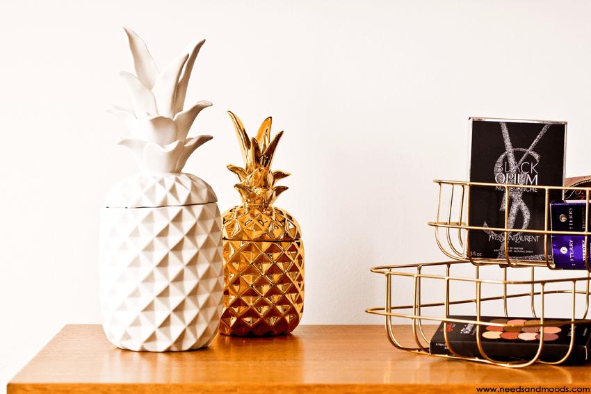boite ananas blanche