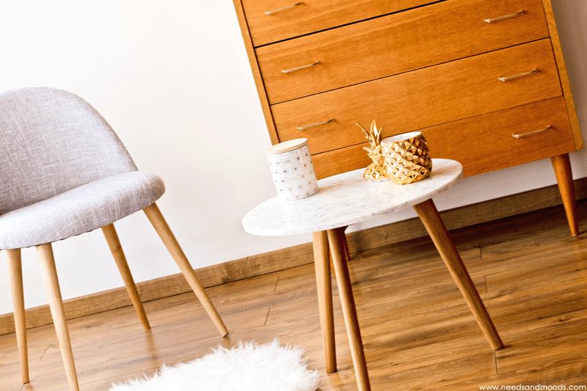 table marbre blanc