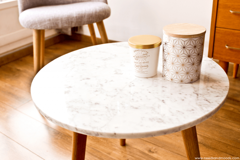 Table ronde marbre blanc blog beaut needs and moods - Table marbre ronde ...