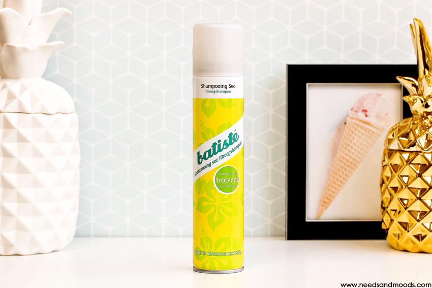 batiste tropical shampooing sec