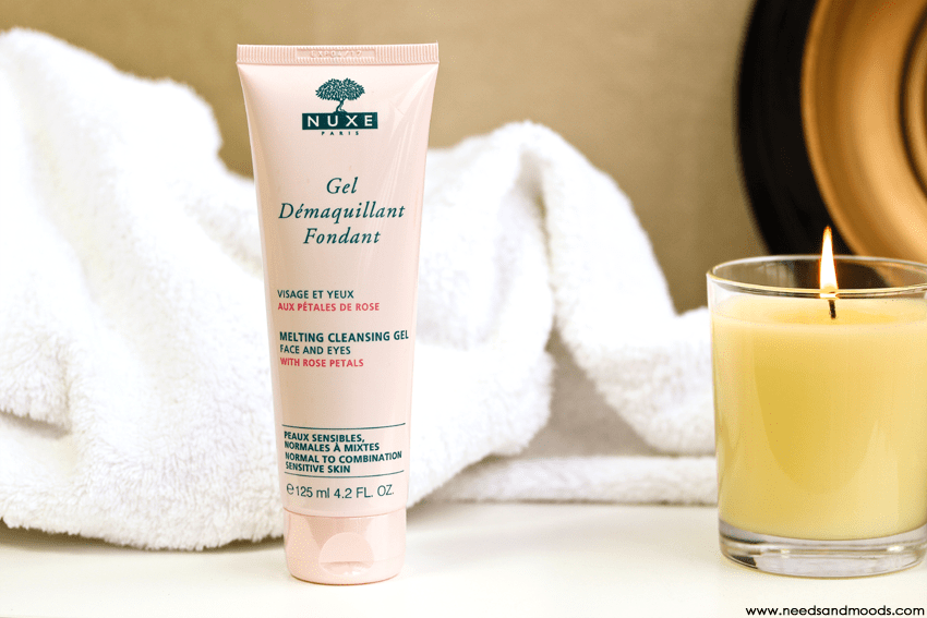 nuxe gel demaquillant fondant