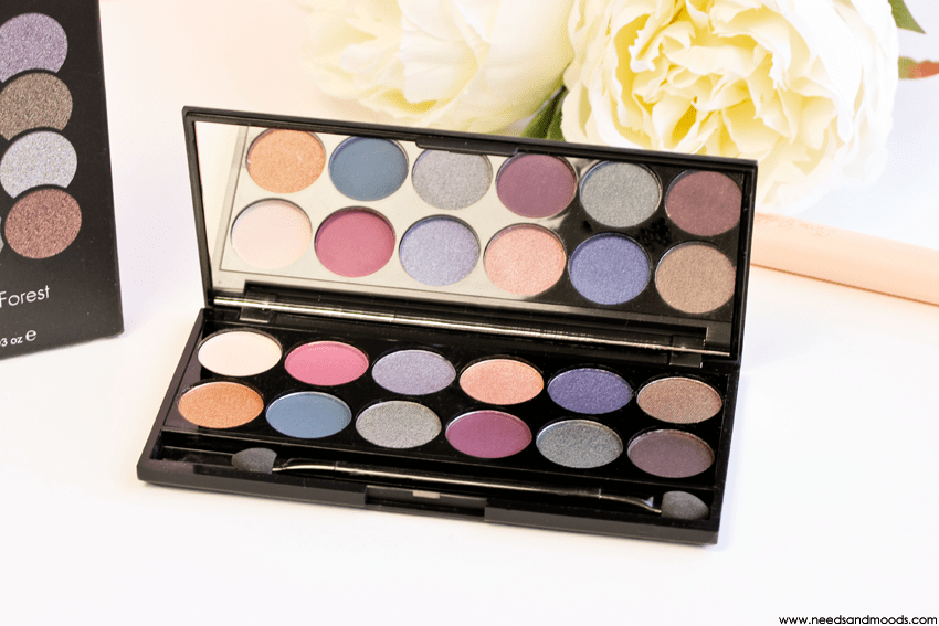 palette sleek enchanted forest