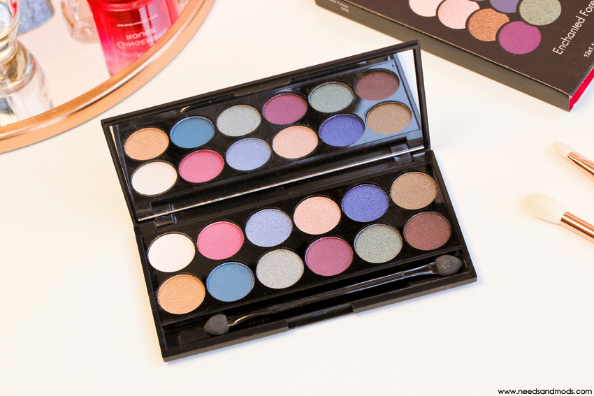 sleek palette enchanted forest