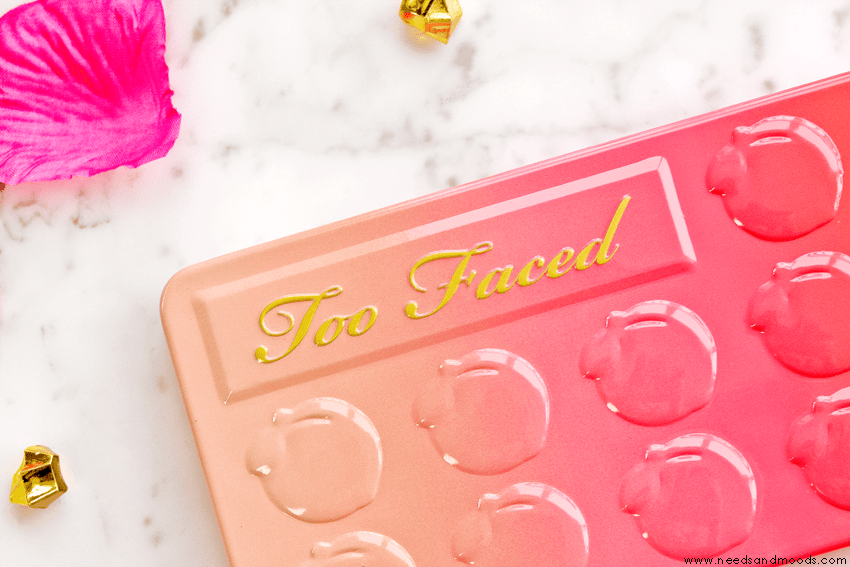 sweet peach palette too faced