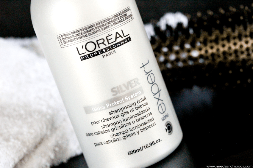 loreal shampooing silver