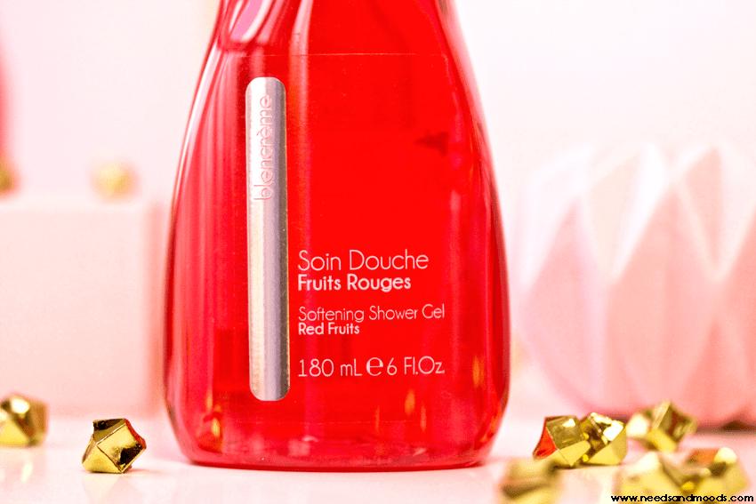 blancreme gel douche fraise