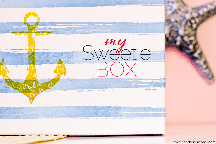 my sweetie box aout 2016 contenu