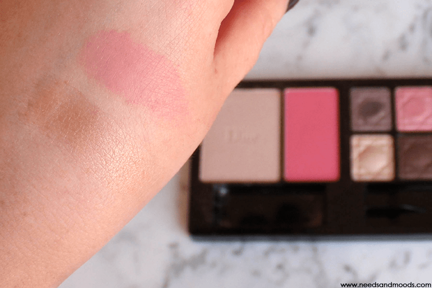dior blush highlighter swatch