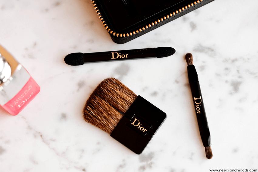 pinceaux maquillage dior