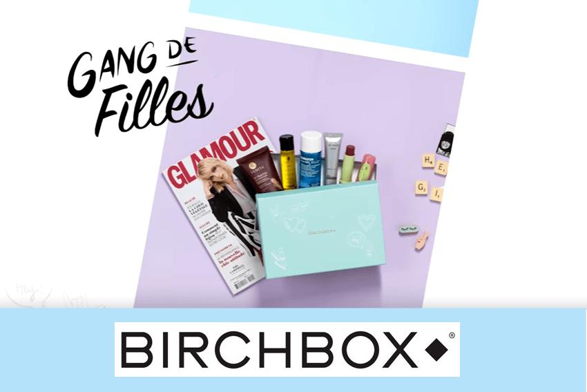 birchbox février 2017 gang de filles