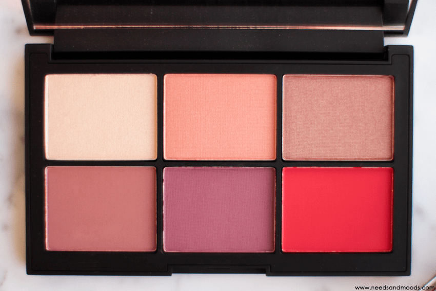 nars unfiltered I palette