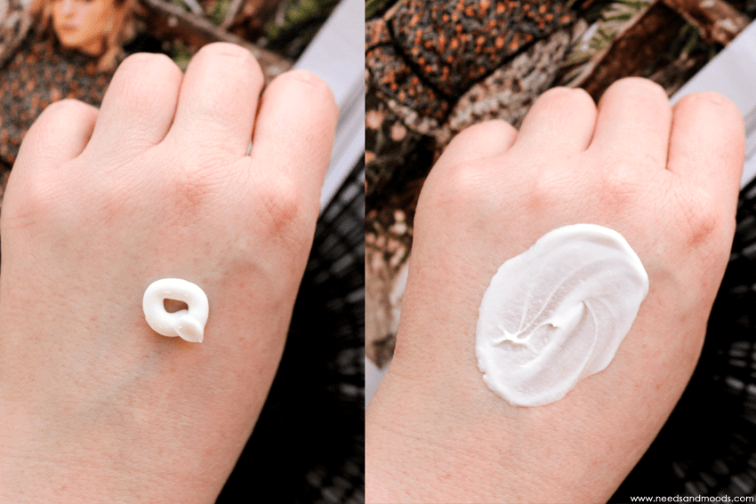 eos creme mains swatch